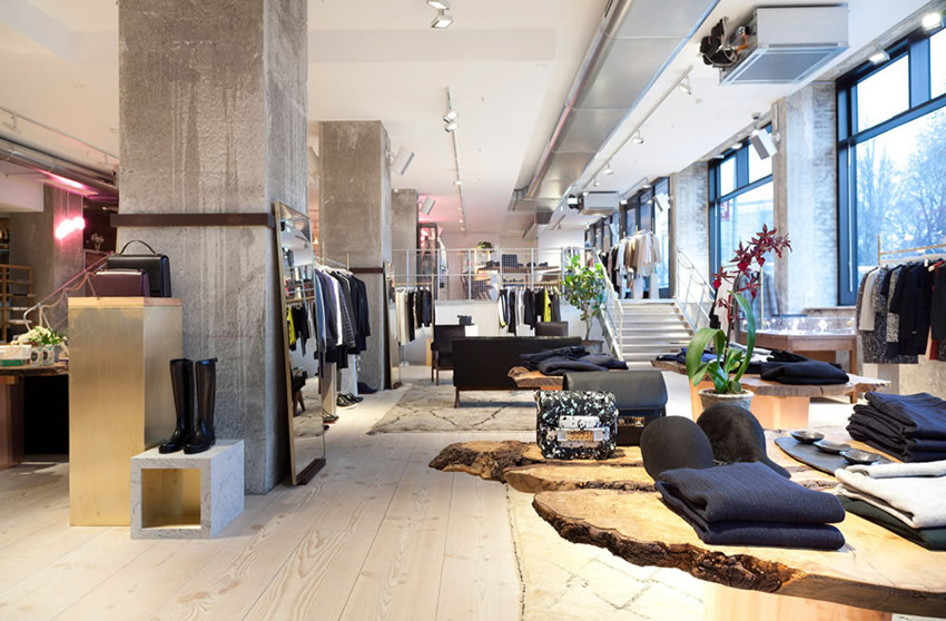 berlin 39 s coolest store with cafe and co working spaces attached. Black Bedroom Furniture Sets. Home Design Ideas
