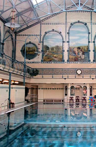 Berlin's sumptuous historic swimming pools and baths