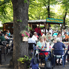 A summer-long wine festival in one of Berlin's prettiest squares