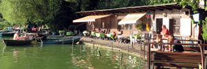Berlin's most beautiful lakeside bar?