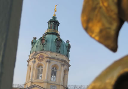 View of Charlottenburg Schloss, Berlin