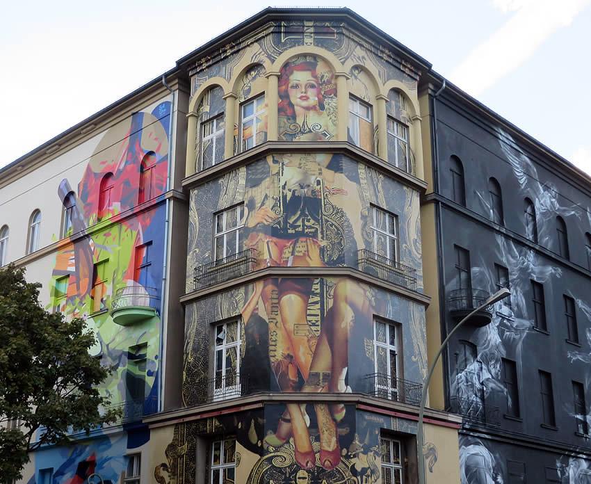 Urban art in Berlin\'s west